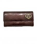 GUCCI(グッチ)の古着「財布」|ブロンズブラウン