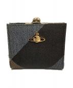Vivienne Westwood(ヴィヴィアンウエストウッド)の古着「がま口財布」 ブラウン