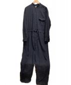NEGATIVE DENIM(ネガティブ デニム)の古着「32回染めデニムオールインワン」|インディゴ