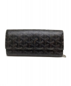 GOYARD(ゴヤール)の古着「2つ折り財布」|ブラック×ブラウン
