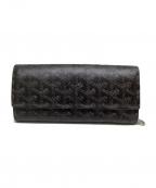 GOYARD()の古着「2つ折り財布」|ブラック×ブラウン
