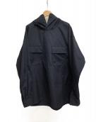 Engineered Garments(エンジニアードガーメンツ)の古着「フーデットプルオーバーシャツ」 ネイビー