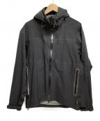 MARGARET HOWELL(マーガレットハウエル)の古着「ウィンドストッパージャケット」|ブラック