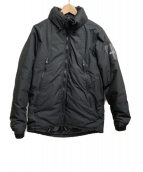 WILDSWANS(ワイルドスワンズ)の古着「ダウンジャケット」|ブラック