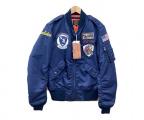 AVIREX(アヴィレックス)の古着「L-2Bフライトジャケット」|ネイビー