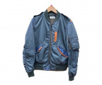 AVIREX(アヴィレックス)の古着「L-2フライトジャケット」|カーキ