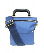 ANYA HINDMARCH(アニヤハインドマーチ)の古着「ショルダーバッグ」 ブルー