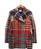 KHAITE(カイト)の古着「ウールコート」|レッド