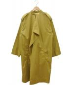 CEDRIC CHARLIER(セドリック シャルリエ)の古着「コート」|ベージュ