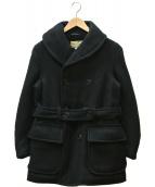 william gibson(ウィリアム ギブスン)の古着「ウールコート」|ブラック