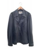 AVIREX(アヴィレックス)の古着「ライダースジャケット」|ブラック