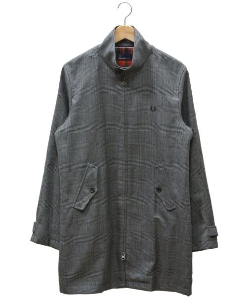 FRED PERRY(フレッドペリ)FRED PERRY (フレッドペリ) ハリントンマックウィンターコート グレー サイズ:Sの古着・服飾アイテム
