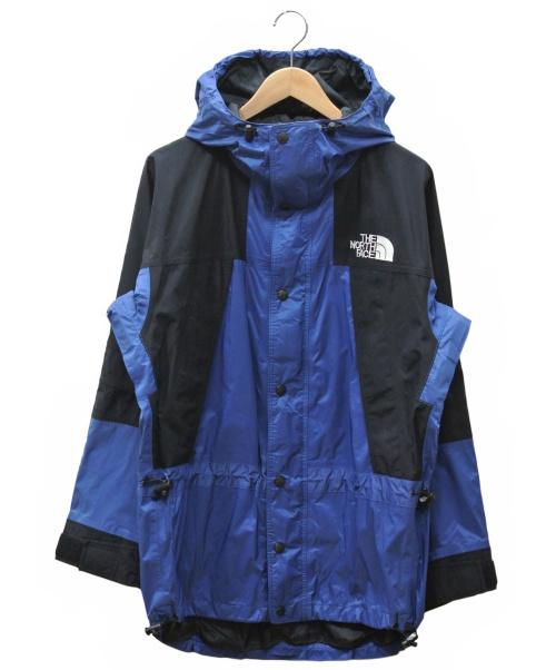THE NORTH FACE(ザノースフェイス)THE NORTH FACE (ザノースフェイス) ナイロンジャケット ブラック×ブルー サイズ:Mの古着・服飾アイテム