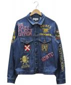 AVIREX(アビレックス)の古着「タイプブルーインパクトデニムジャケット」|ブルー