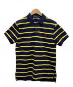 POLO RALPH LAUREN(ポロ・ラルフローレン)の古着「ポロシャツ」 ネイビー×イエロー