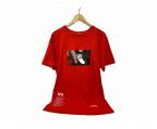 HERON PRESTON()の古着「フォトプリントTシャツ」|レッド