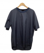 3.1 phillip lim(スリーワンフィリップリム)の古着「オーバーサイズプルオーバーシャツ」 ネイビー
