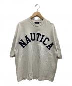 NAUTICA(ノーティカ)の古着「ロゴカットソー」 グレー