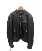 KADOYA(カドヤ)の古着「レザージャケット」|ブラック