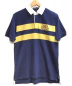 POLO RALPH LAUREN(ポロラルフローレン)の古着「ポロシャツ」|ネイビー