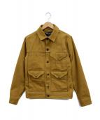 FILSON(フィルソン)の古着「ショートクルザージャケット」|マスタード