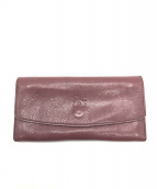 ()の古着「長財布」|パープル