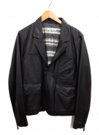 nonnative(ノンネイティブ)の古着「レザージャケット」|ブラック