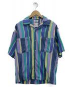 wakami(ワカミ)の古着「オープンカラーシャツ」|マルチカラー