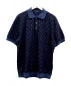 LOUIS VUITTON(ルイヴィトン)の古着「ポロシャツ」|ネイビー