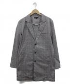MICHEL KLEIN(ミッシェルクラン)の古着「ロングジャケット」|グレー