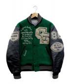 WHITESVILLE(ホワイツビル)の古着「アワードジャケット」 グリーン