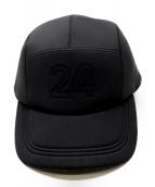 HERMES(エルメス)の古着「ベースボールキャップ」|ブラック