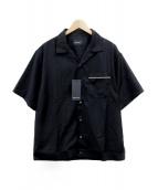 MAIDEN NOIR(メイデン ノアール)の古着「ボーリングシャツ」|ブラック