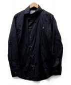 Vivienne Westwood man(ヴィヴィアンウエストウッドマン)の古着「オジークラークポプリンシャツ」|ブラック