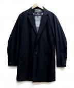 BLACK LABEL CRESTBRIDGE(ブラックレーベルクレストブリッジ)の古着「チェスターコート」|ブラック