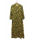 UNITED ARROWS(ユナイテッドアローズ)の古着「マキシワンピース」|イエロー