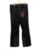 MAMMUT(マムート)の古着「Masao HS Pants」|ブラック