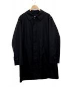 BURBERRY LONDON(バーバリーロンドン)の古着「ステンカラーコート」|ブラック
