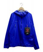 MAMMUT(マムート)の古着「マサオライトHSフーデットジャケット」|ブルー