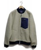 Patagonia(パタゴニア)の古着「レトロX・ボンバージャケット」|ホワイト×ネイビー