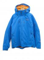 Patagonia()の古着「プリモダウンジャケット」|ブルー