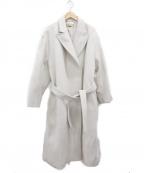 MAISON SPECIAL(メゾンスペシャル)の古着「ウールコート」|ベージュ