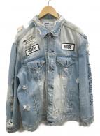 ()の古着「オーバーサイズデニムジャケット」