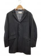 ()の古着「ロングジャケット」|ブラック