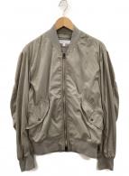 BEAUTY&YOUTH(ビューティアンドユース)の古着「ボンバージャケット」|カーキ