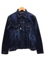 KURO(クロ)の古着「デニムジャケット」|ブラウン