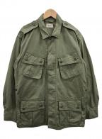 TOYS MCCOY(トイズマッコイ)の古着「ジャングルファティーグジャケット」|カーキ