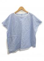 ARTISAN(アルチザン)の古着「半袖プルオーバーシャツ」 ブルー