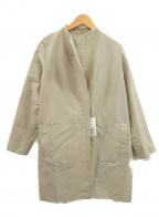 Gabardine K.T(ギャバシンケーティー)の古着「シャンブレーロングジャケット」 グレー