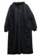 K.T KIYOKO TAKASE()の古着「ナイロンタフタ二重仕立てエアリー5WAYコート」|ブラック